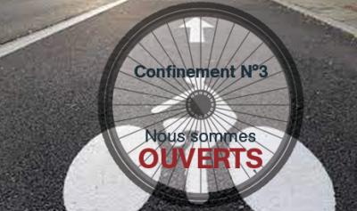 Vos magasins de vélo et atelier de réparation Mondovélo Chambéry Epagny et Seynod sont ouverts pendant le confinement