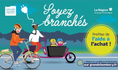 Renouvellement du dispositif Chèque vélo à assistance electrique Grand Chambéry à partir du 1er juin 2021 - Mondovelo chambery partenaire de l'opération