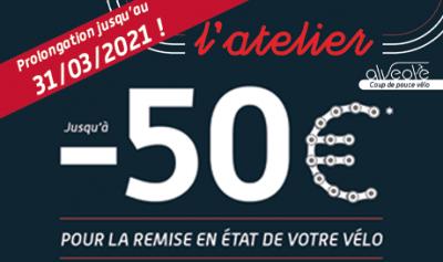 Prolongation operation coup de pouce à vélo chez Mondovélo Chambéry et Annecy