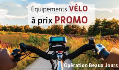 operation beaux jours chez Mondovelo chambery annecy epagny seynod une sélection de vélos et accessoires à prix promo