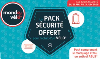 Stop au vol de vélo, Mondovélo chambery, annecy et crolles vous offrent votre pack sécurité antivol et marquage