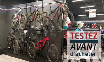 Découvrez un large choix de vélos en test chez Mondovélo Chambéry, epagny, crolles ou seynod