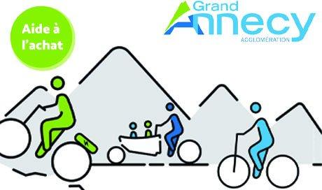 Mondovelo Epagny et Seynod partenaire de l'aide à l'achat d'un vélo musculaire electrique ou cargo de Grand Annecy