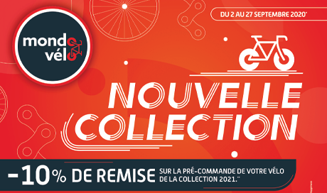 promo sur la nouvelle collection velo 2021 Mondovelo Chambery Annecy