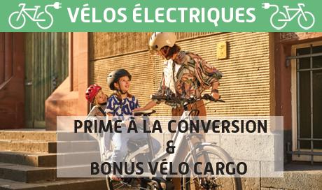 Roulez en vélo electrique et beneficiez de la prime à la conversion de 1500 Euros - RDV chez Mondovelo Chambery Annecy Grenoble