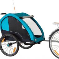 en promo remorque velo enfant bike original kid aluminium chez Mondovélo Chambéry