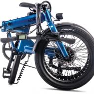 le Vélo electrique pliant Eovolt idéal pour le déplacement multimodal est chez Chambery Annecy Epagny Seynod