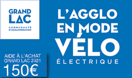 Mondovélo chambery, Epagny et seynod partenaires de Grand Lac pour l'opération l'aggo en mode vélo électrique