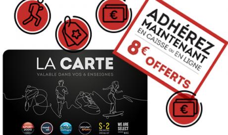 cumuler des Euros  avec la carte fidélité des magasins Mondovélo Chambéry Annecy ou Crolles Grenoble