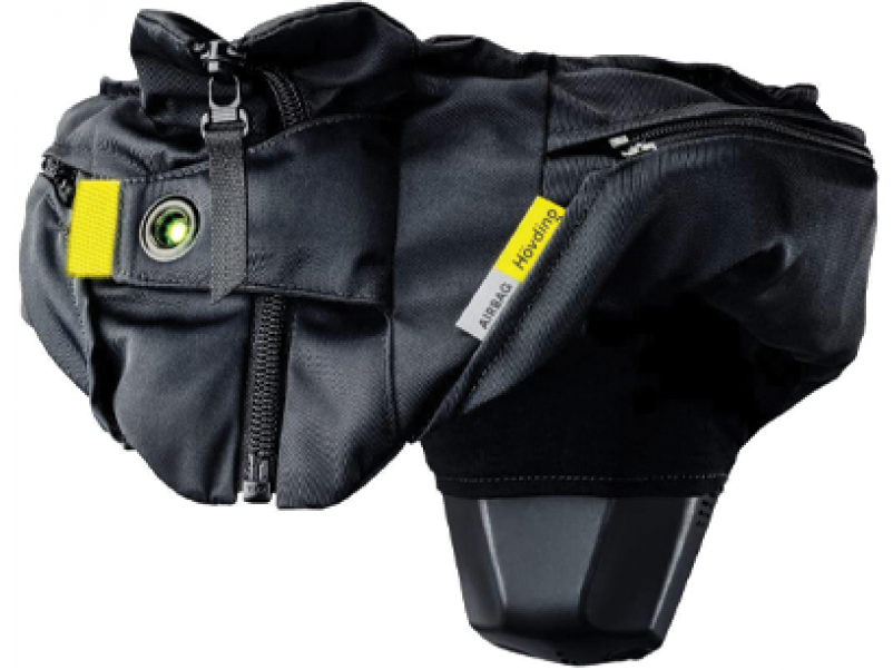 Casque airbag hovding pour cycliste urbain Mondovelo chambery annecy