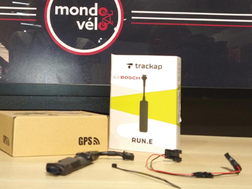 Traceur GPS trackap contre le vol de votre vélo électrique moteur Bosch chez Mondovelo chambery annecy ou crolles
