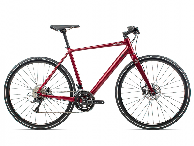 Vélo de route Fitness Orbea Vector 20 red Mondovelo Chambery Annecy Epagny Seynod