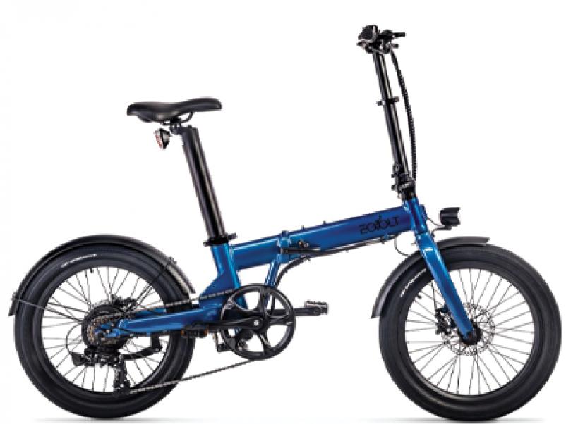 Découvrez le vélo pliant éléctrique éovolt marque francaise chez Mondovélo Annecy