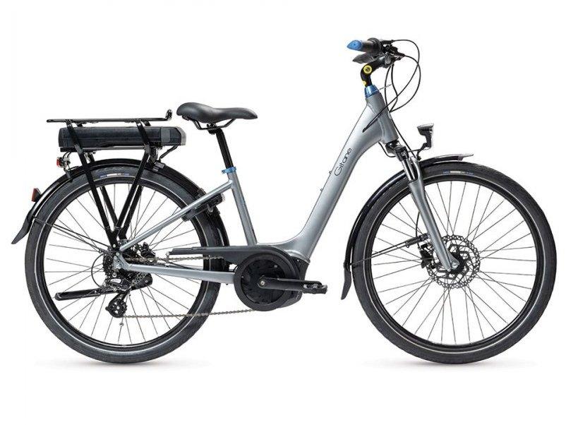 VAE loisir urbain Gitane eSalsa Yamaha D8 gris Mondovelo