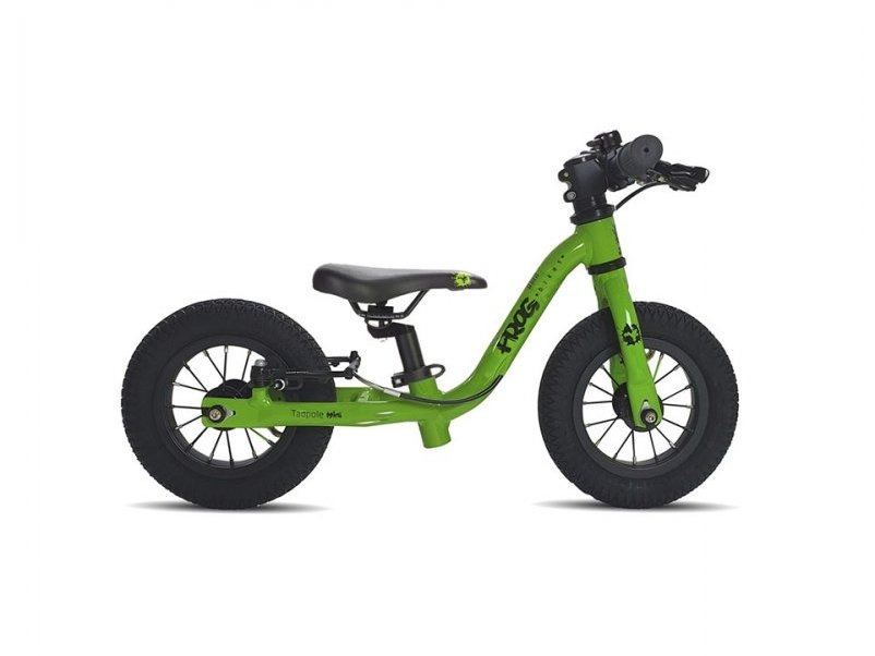 Velo enfant draisienne Frog Tadpole Mini green Mondovelo