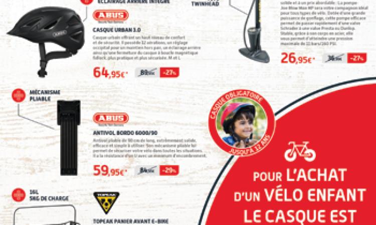 operation beaux jours chez Mondovelo chambery annecy epagny seynod une sélection de vélos et accessoires à prix reduits